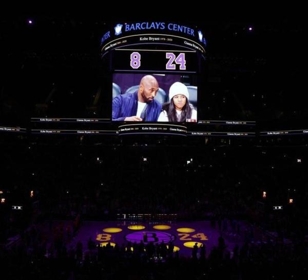 Mort de Kobe Bryant: L'émotion déborde toujours sur les parquets de NBA
