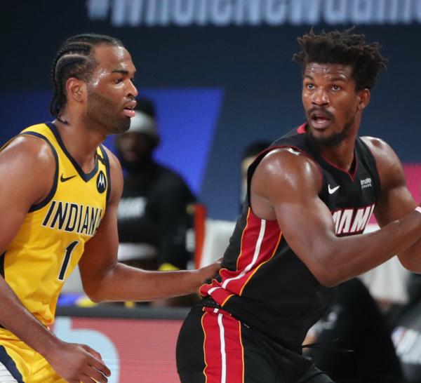 NBA PLAYOFFS 2020:Miami fait le break face aux Pacers