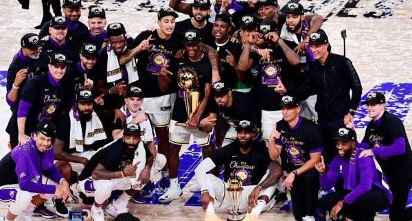NBA : les Los Angeles Lakers champions 2019-2020, après leur victoire contre Miami dans le match 6 de la finale