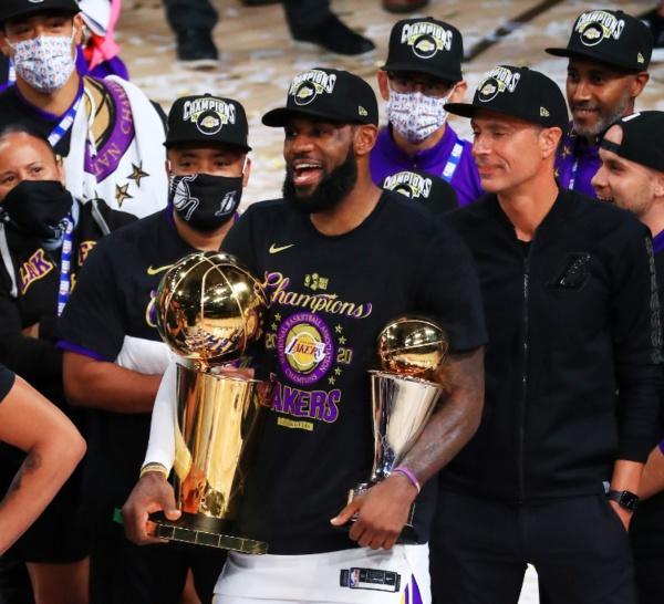 Basket - NBA - NBA : LeBron James (Los Angeles Lakers) élu MVP de la finale 2020