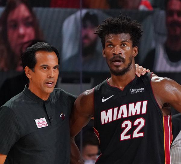 NBA: Jimmy Butler (Miami Heat) : « Je suis fier »