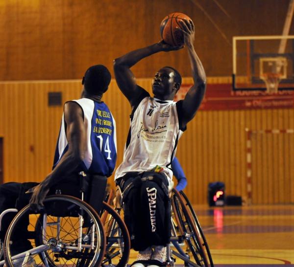 HANDIBASKET Championnat de France NA - 18ème journée: THONON C.H d'Ibrahima Ndiaye monte en Nationale A.