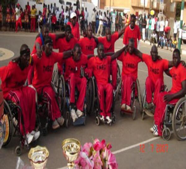 HANDIBASKET - Vainqueur en finale de Talibou Dabo (38-26) : Handistars aux anges